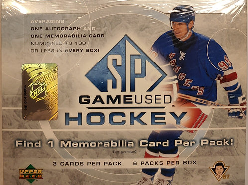 2005 SP Game Used Hockey (Personal Pack Only)
