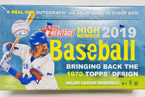 2019 Topps Heritage High # Baseball (Personal Pack Only)
