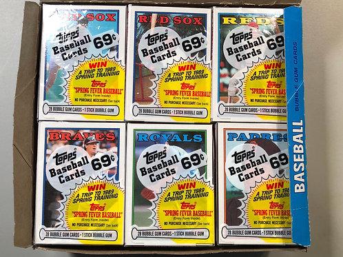 1988 Topps Baseball Cello Packs (Personal Pack Only)