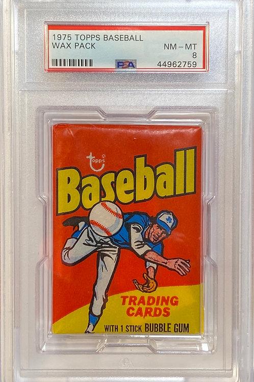 1975 Topps Baseball Wax Pack 10 Spot Random Card Group Break