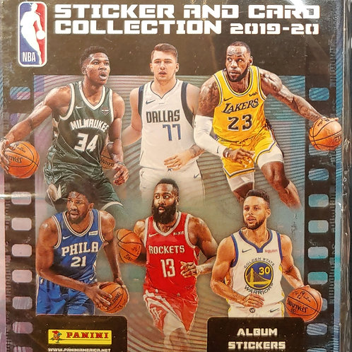 2019 NBA Sticker Collection (Personal Pack Only)