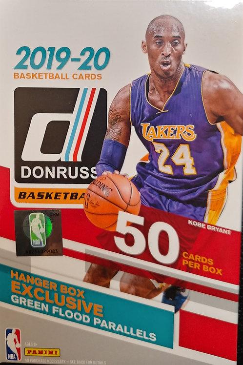 2019 Donruss Basketball Hanger Box (Full Box Rip)