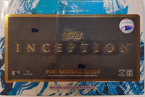 2021 Topps Inception Baseball:4 Box/30 Spot Random Team Group Break