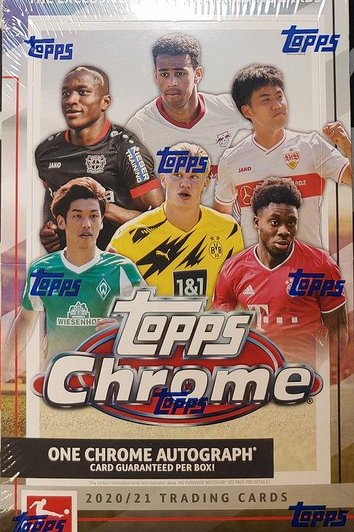 2020 Topps Chrome Bundesliga Hobby Soccer (Personal Pack Only)