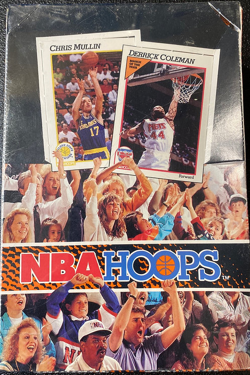 1991-1992 NBA Hoops series 1 Basketball  (Personal pack Only)