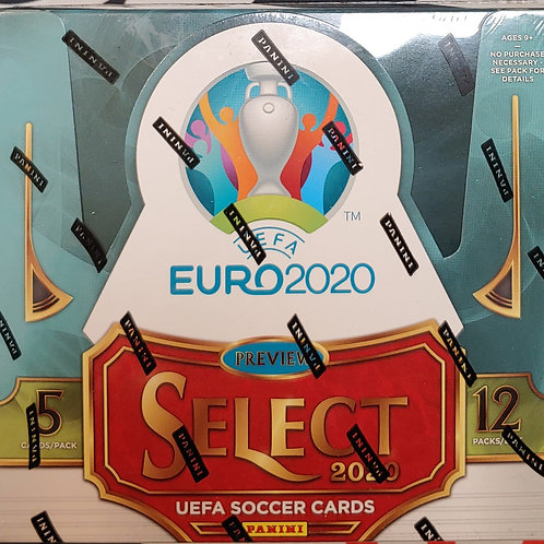 2020 Select Soccer UEFA Hobby (Personal Pack Only)