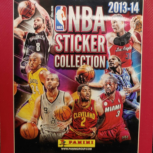 2013 NBA Sticker Collection (Personal Pack Only)