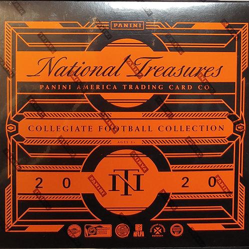 2020 National Treasures Collegiate Football: 32 Spot Random Team Group Break