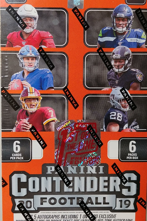 2019 Contenders Football First Off The Line (Personal Pack Only)