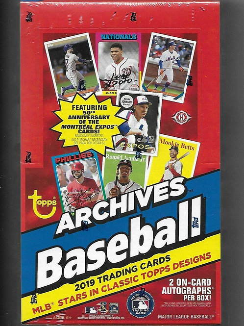 2019 Topps Archives Baseball (Personal Pack Only)