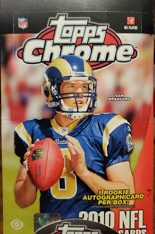 2010 Topps Chrome Football Hobby (Personal Pack Only)