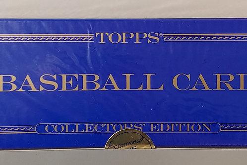 1989 Topps Baseball Sealed Tiffany Set