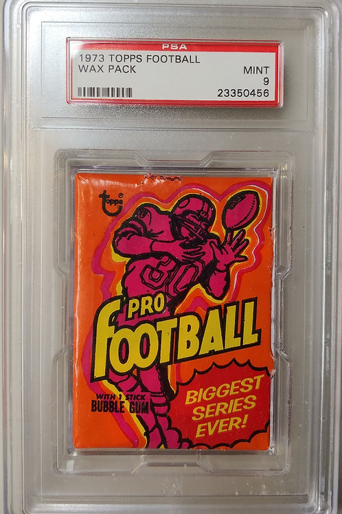 1973 Topps Football Wax Pack (Personal Pack Only)