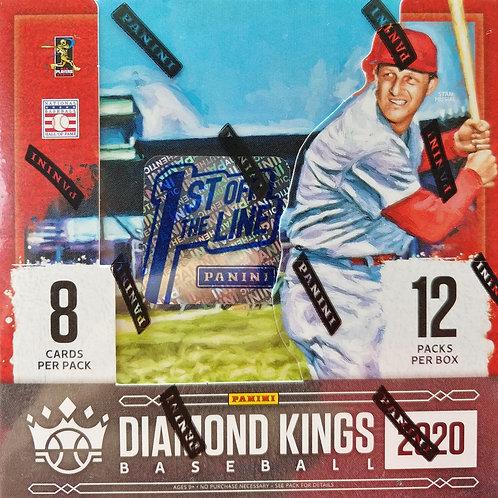 2020 Diamond Kings Baseball FOTL (Full Box Rip)