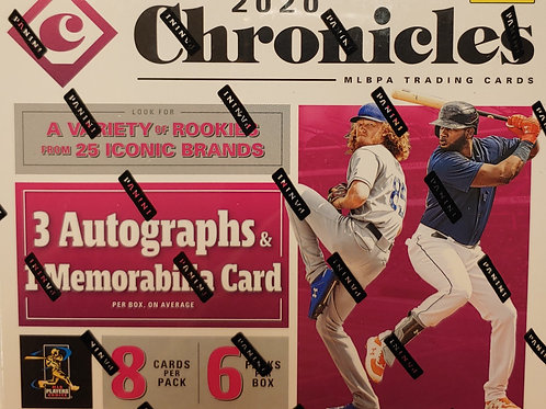 2020 Chronicles Baseball Hobby (Personal Pack Only)