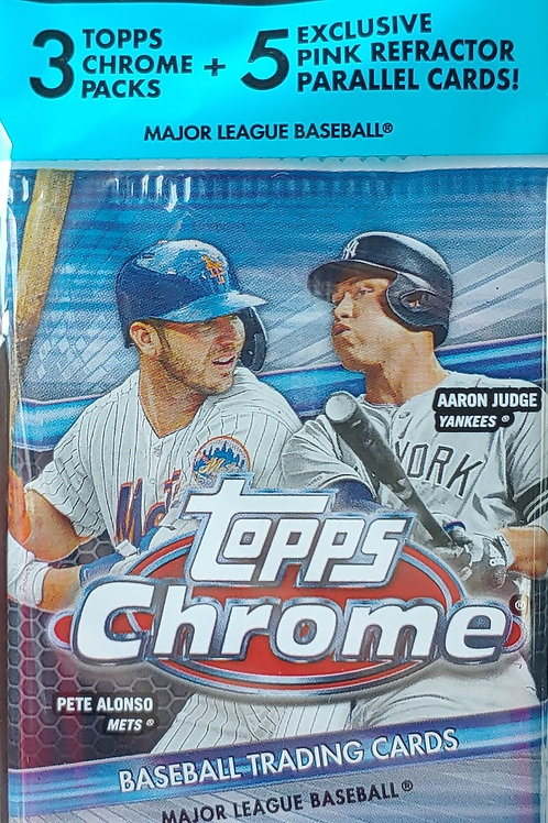 2020 Topps Chrome Baseball Cello Pack (Personal Pack Only)