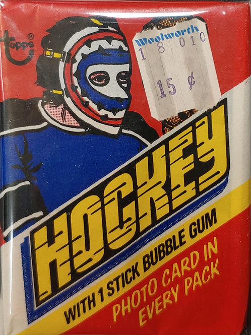 1977 Topps Hockey Wax Pack (Personal Pack Only)
