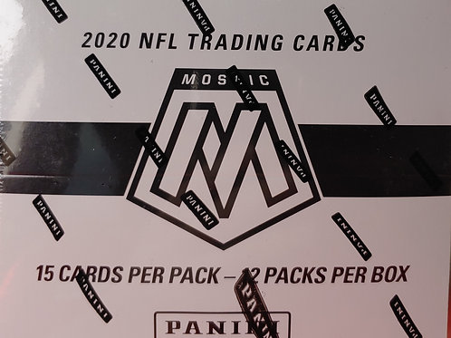 2020 Mosaic Football Cello Pack (Personal Pack Only)