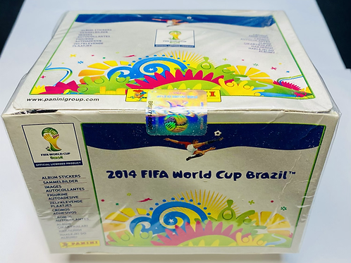 2014 FIFA World Cup Soccer Stickers (Personal Pack Only)
