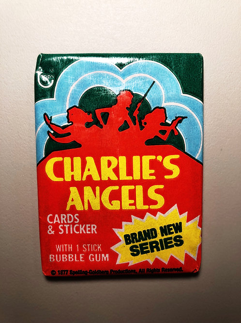 1977 Charlie's Angles Wax Pack   Farrah Fawcett???(personal pack only)
