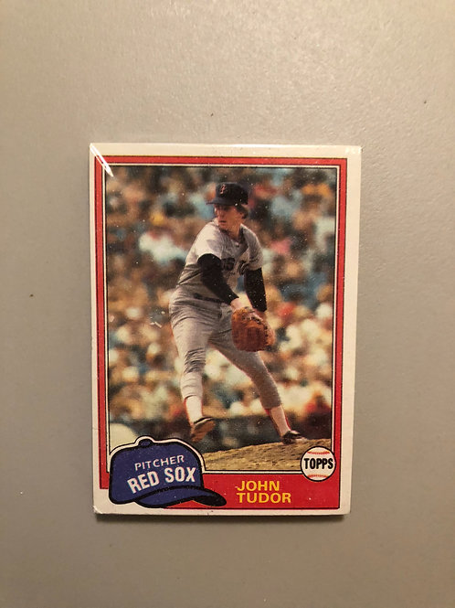 1981 Topps Baseball Cello Pack (Personal Pack Only)