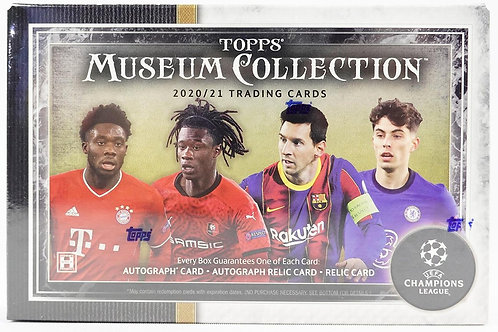 2020 Champions League Museum Collection:1 Box/8 Spot Random Card Group Break