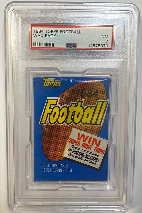 1984 Topps Football: 15 Spot Random Card Group Break