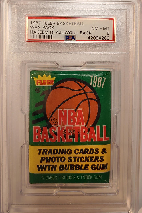 1987 Fleer Basketball PSA 8: 13 Spot Random Card Group Break