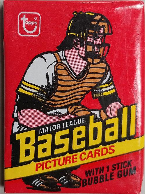 1978 Topps Baseball Wax Pack 14 Spot Random Card Group Break