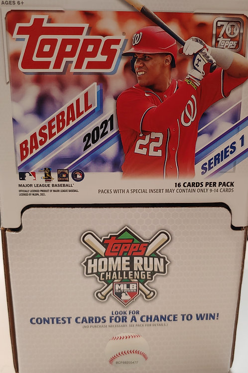 2021 Topps Baseball Series 1 Gravity Feed Pack (Personal Pack Only)