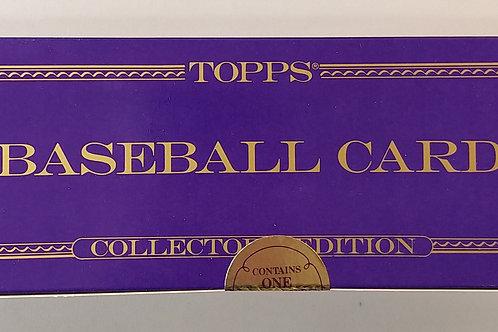 1987 Topps Baseball Sealed Tiffany Set