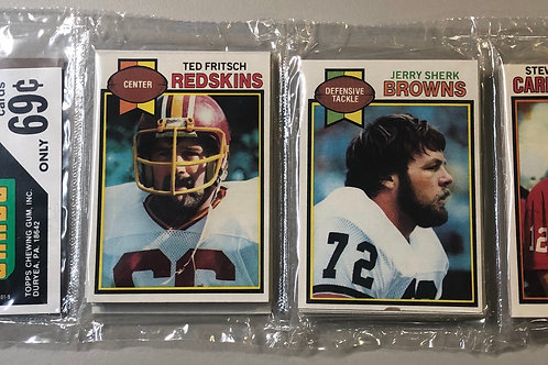 1979 Topps Football Rack Pack (Personal Pack Only)