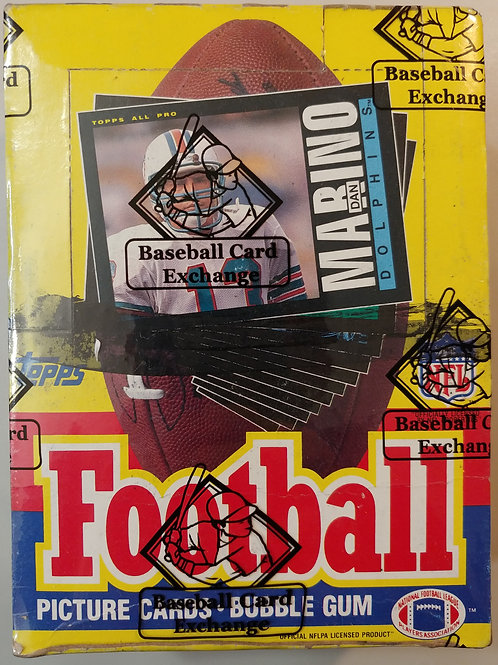 1985 Topps Football Wax Pack (Personal Pack Only)