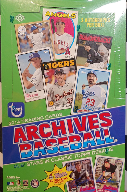 2014 Topps Archives Baseball (Personal Pack Only)