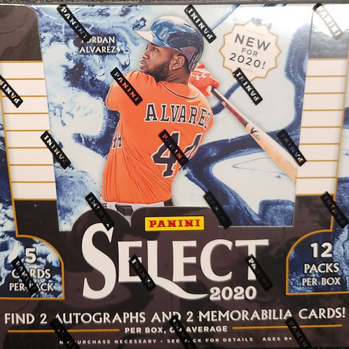 2020 Select Baseball (Personal Pack Only)