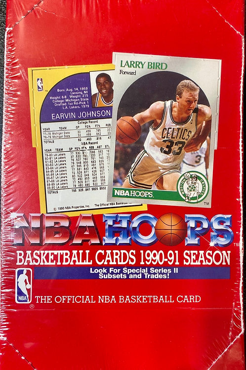 1990 NBA Hoops Series 2 (Personal pack only)