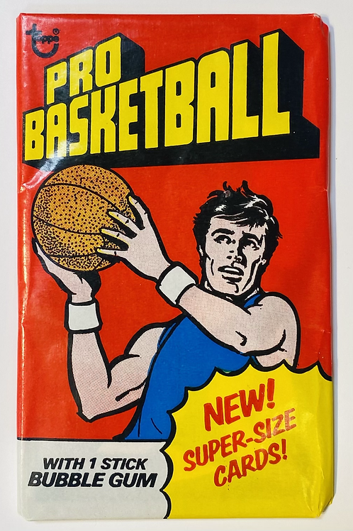 1976 Topps Basketball Wax Pack (Personal Pack Only)
