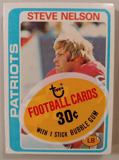 1978 Topps Football Cello Pack (Personal Pack Only)