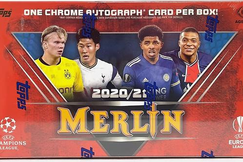 2020 Topps Chrome Merlin Soccer Hobby (Personal Pack Only)