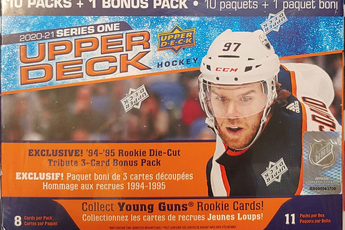 2020 Upper Deck Series 1 Hockey Mega Box (Full Box Rip)
