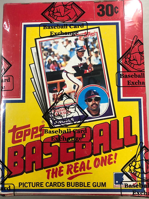 1983 Topps Baseball Wax Pack (Personal Pack Only)