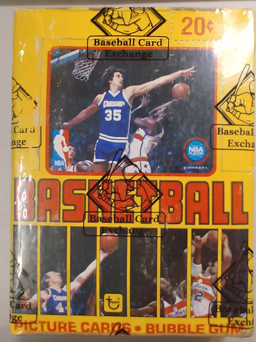 1979 Topps Basketball Wax Pack (Personal Pack Only)