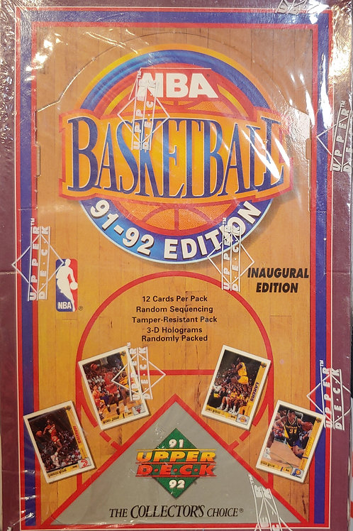 1991 Upper Deck Basketball (Personal Pack Only)