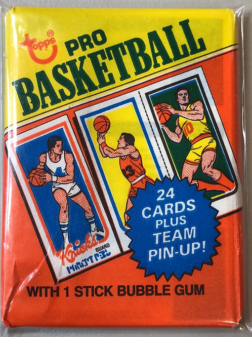 1980 Topps Basketball Wax Pack (Personal Pack Only)