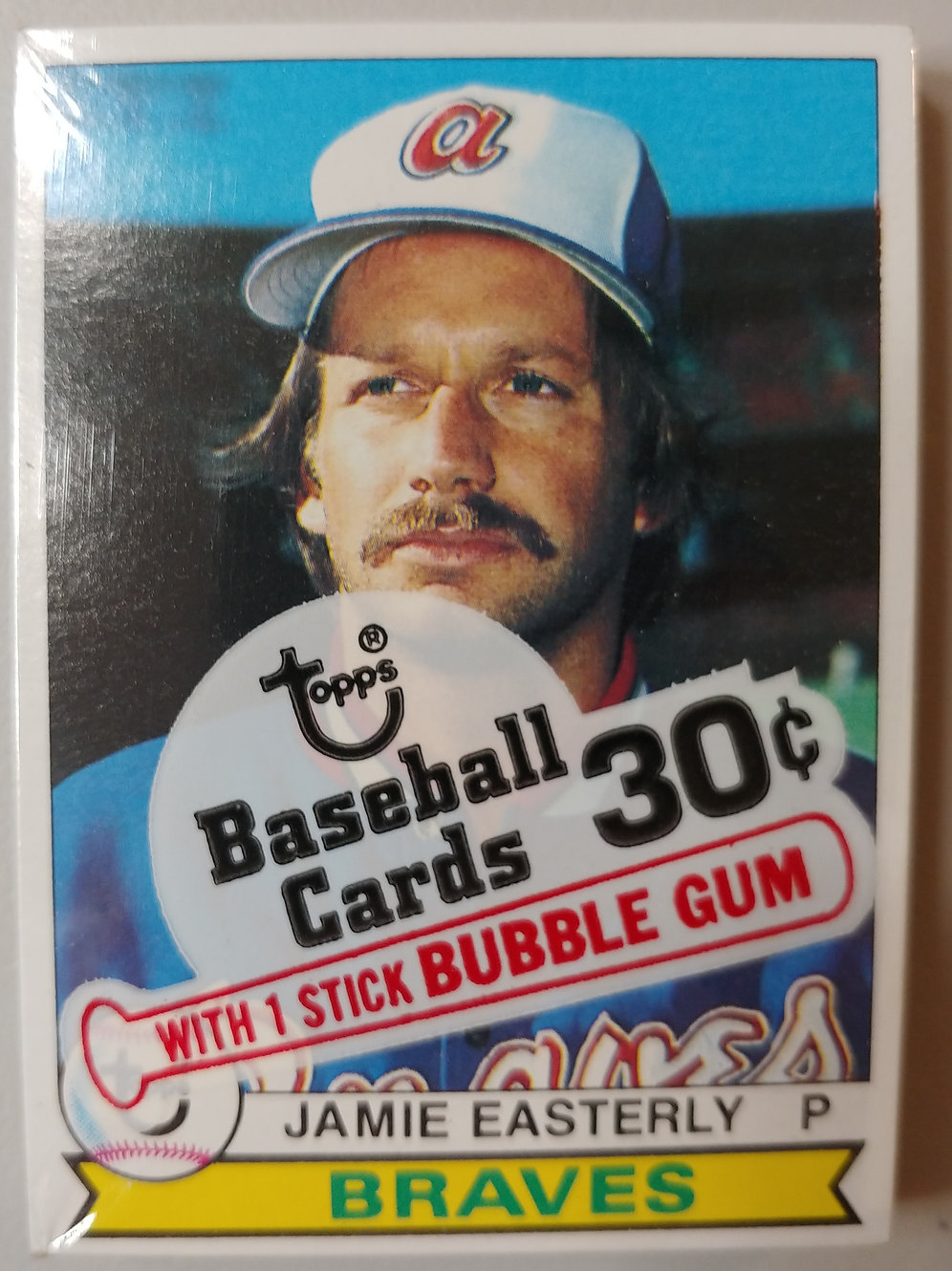 1979 Topps Baseball Cello Pack Personal Pack Only