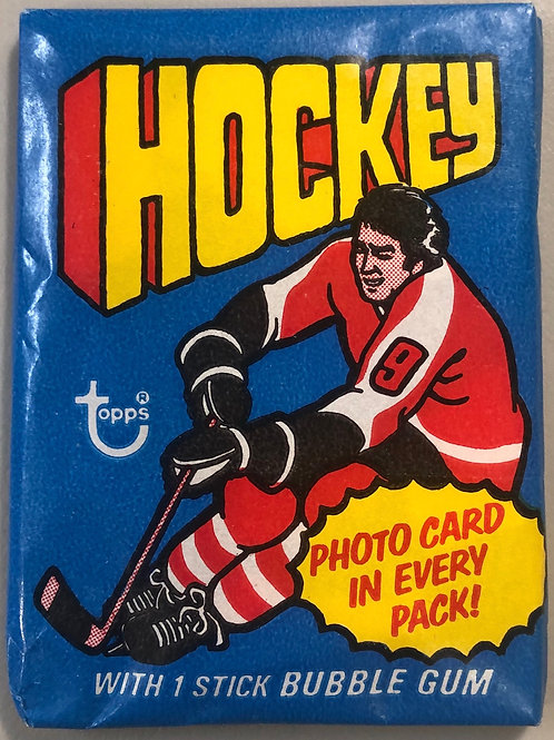 1976 Topps Hockey Wax Pack (Personal Pack Only)