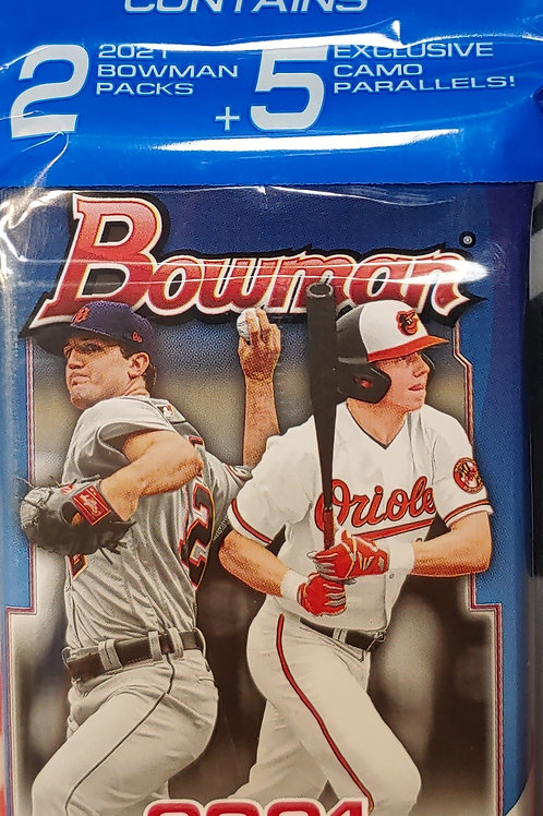 2021 Bowman Baseball Cello Pack (Personal Pack Only)
