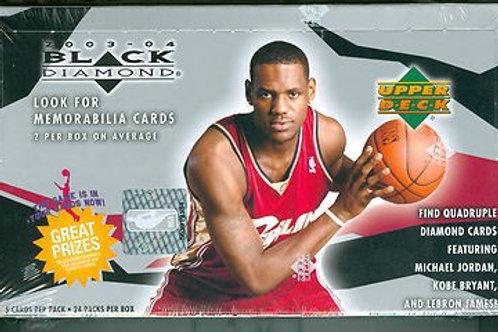 2003 Upper Deck Black Diamond Basketball 24 Spot:Random Pack Group Break