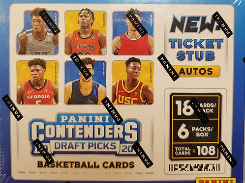2020 Contenders Draft Hobby Basketball (Personal Pack Only)