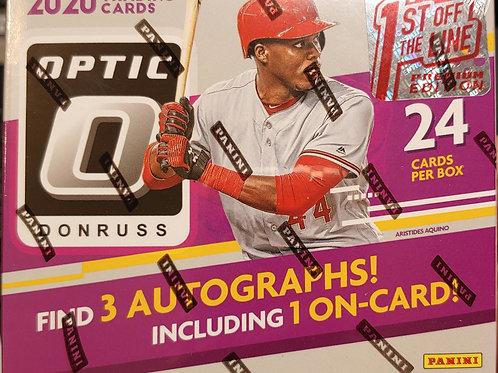 2020 Optic FOTL Hobby Baseball (Full Box Rip)